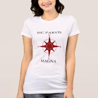 Sic Parvis Magna Women's Jersey T-Shirt