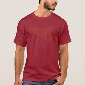 Sicilia darkred T-Shirt