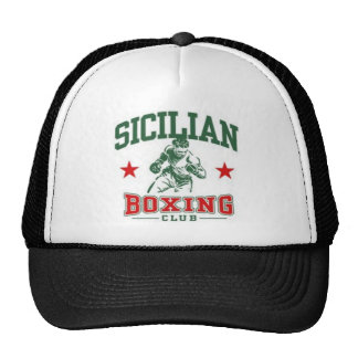 Sicilian Boxing Hats