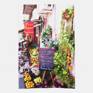 Sicilian Fruit Market Kitchen Towel