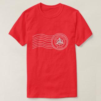 Sicilian Trinacria Postmark Your Text T-Shirt