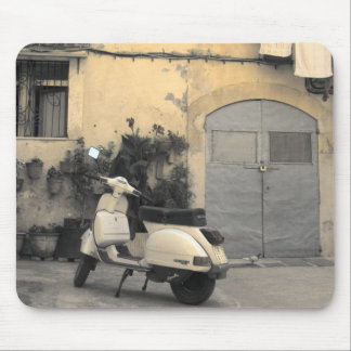 Sicilian typical corner mouse pad