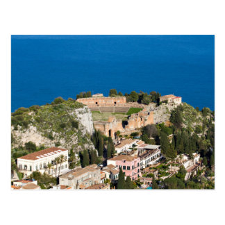 Sicily - Ancient Theater of Taormina postcard