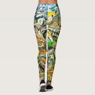 Sicily Colors Leggings