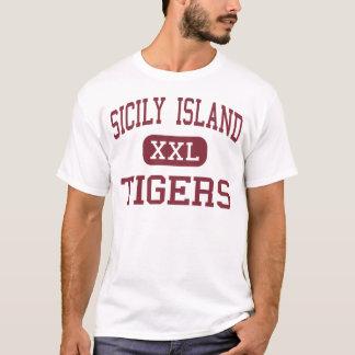 Sicily Island - Tigers - High - Sicily Island T-Shirt