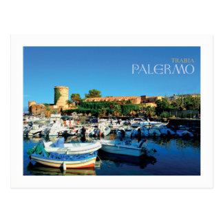 Sicily - Palermo - Trabia (framed) Postcard