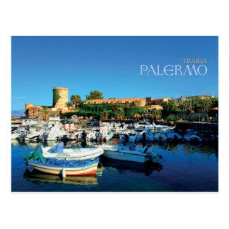 Sicily - Palermo - Trabia Postcard