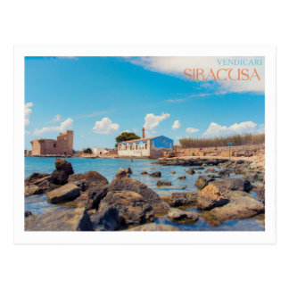 Sicily - Syracuse - Tonnara di Vendicari Postcard