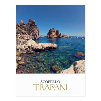 Sicily - Trapani - Tonnara di Scopello Postcard