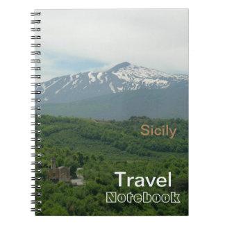 Sicily Travel Destination Notebook