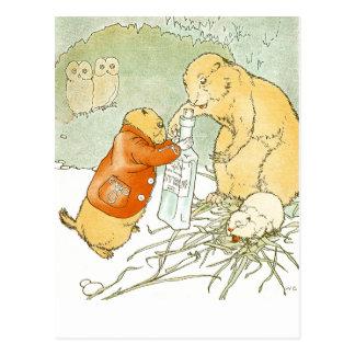 Sick Baby Prairie Dog Coughs Postcard
