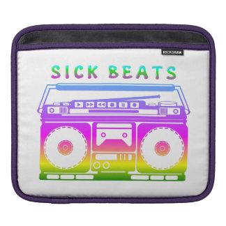 Sick Beats 1980'S Stereo iPad Sleeve
