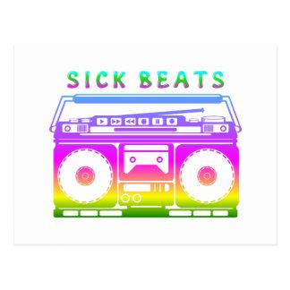 Sick Beats 80's Stereo Postcard