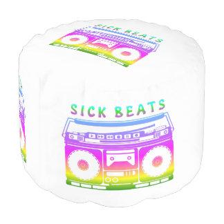 Sick Beats 80's Stereo Pouf