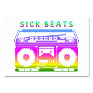 Sick Beats Card