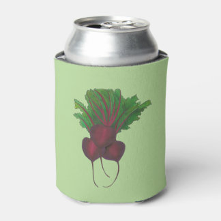 Sick Beets (Beats) Red Beet Vegetarian Funny Food Can Cooler