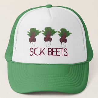 Sick Beets (Beats) Red Beet Vegetarian Funny Food Trucker Hat