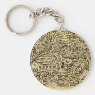 Sick Chamber_by Brian Benson Keychain