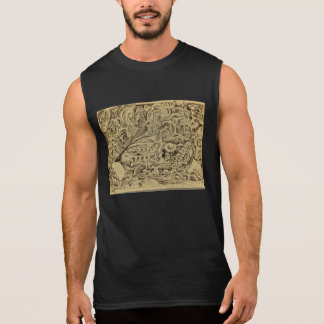 Sick Chamber, by Brian Benson Sleeveless Shirt