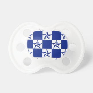 Sick Dark Blue Stars Baby Pacifier