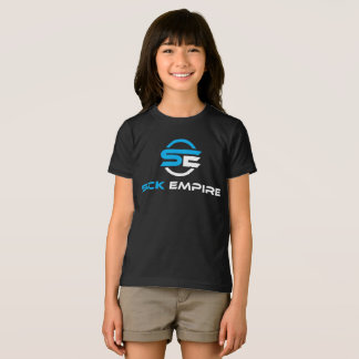 Sick Empire - Girls Tee 1 (Blue & White Logo)