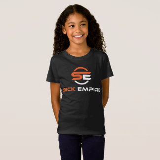 Sick Empire - Girls Tee 3 (Orange & White Logo)
