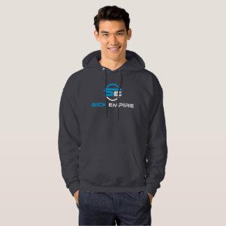 Sick Empire - Hoodie 1 (Blue & White Logo)