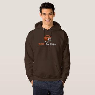 Sick Empire - Hoodie 3 (Orange & White Logo)