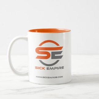 Sick Empire - Mug 2 (Orange & Grey Logo)