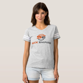 Sick Empire - Women's Tee 4 (Orange & Grey Logo)