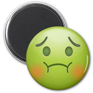 Sick note Emoji Face Magnet