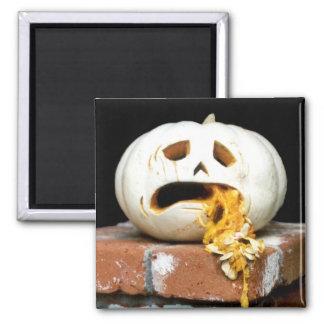 """Sick Pumpkin Magnet - """"Barfy"""""""