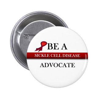 Sickle Cell Advocate 2 Inch Round Button