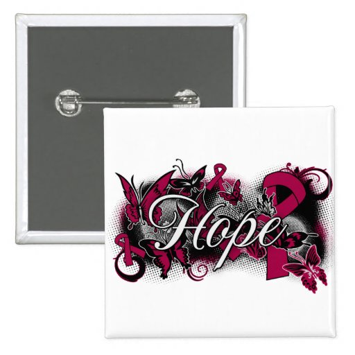Sickle Cell Anemia Hope Garden Ribbon Pin
