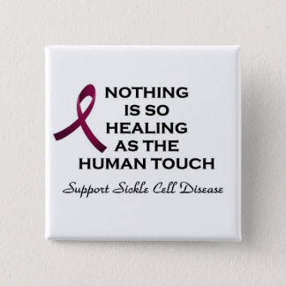 Sickle Cell Disease Support 2 Inch Square Button