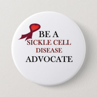 Sickle Cell Support 3 Inch Round Button