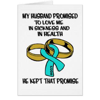 Sickness/Health...PCOS Card