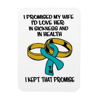 Sickness/Health...TN Rectangular Photo Magnet