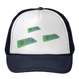 Sics as Si Silicon and Cs Caesium Trucker Hat