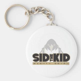 Sid the Kid Basic Round Button Keychain