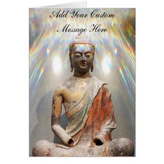 Siddhartha Gautama Statue Card