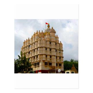 SIDDHIVINAYAK TEMPLE MUMBAI INDIA POSTCARD