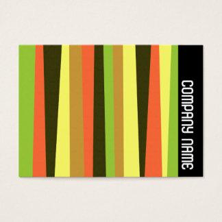 Side Band - Irregular Stripes Business Card