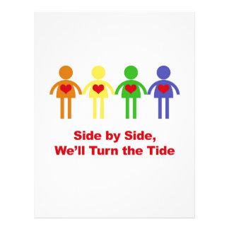 Side by Side, We'll Turn the Tide Letterhead