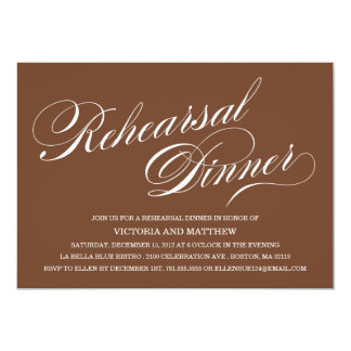 SIDE SCRIPT | REHEARSAL DINNER INVITATION