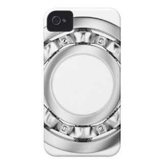 Side view of ball bearing iPhone 4 cover