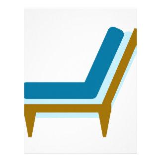 Side view of home sofa custom letterhead