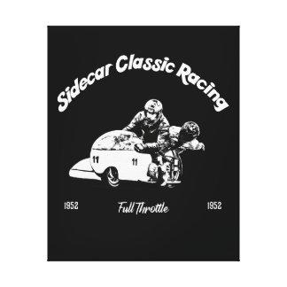Sidecar Classic Racing Canvas Print