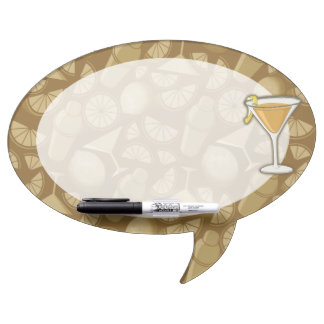 Sidecar cocktail dry erase board