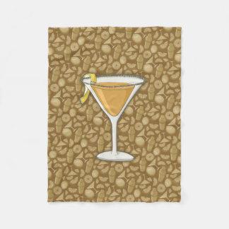 Sidecar cocktail fleece blanket